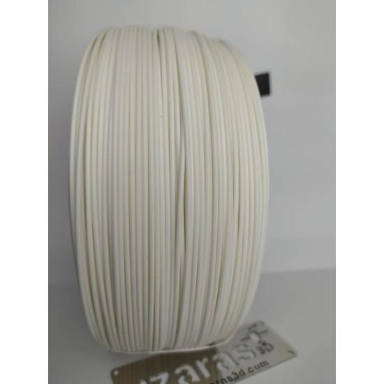 UZARAS 1.75mm Beyaz Pla Plus™ Filament 1000gr Ekonomik