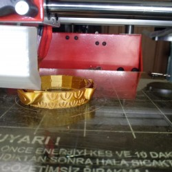 UZARAS 1.75 mm  Bronz Pla  Plus Filament 1000gr