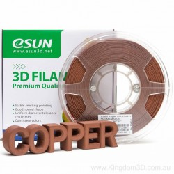 Esun 1.75 mm Polishable eCopper Natural Filament 500 GR