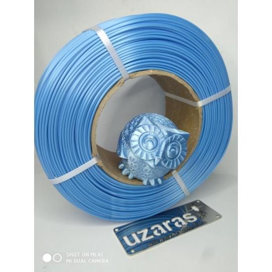 UZARAS 1.75 mm Sky Blue Glint Pla Plus ™ Filament 1000gr Tam Parlak Lüx