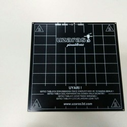 Uzaras3d Mk3b Aluminyum Isıtıcı Tabla
